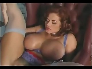 Hot Busty Mom fucks her Young Son