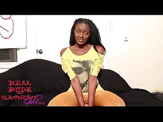 Ebony hood rat in see through leggings flipped by big black cock Bbc