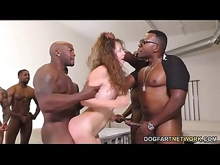 Zoey laine is a black cock slut who loves gangbang