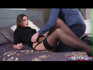 Seductive French milf gets creampie(Clea Gaultier) 01 mov-25