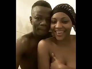 Beautiful Ghanaian St. Louis High School Teen Graduate Aisha Takes Shower With..