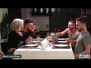 Stig Andersen and Teddy Torres - The Dinner Party Part 1 - Drill My Hole - Men