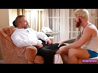 Dirk caber gets his tight asshole fucked