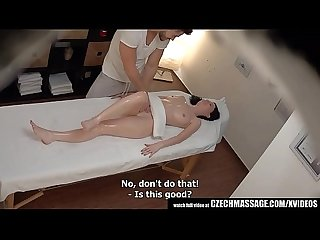 Czech massage stop touching my pussy
