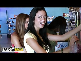 BANGBROS - Young College Lesbians Alexa Jones, Kasey, & Stella Playing With Sex Toys