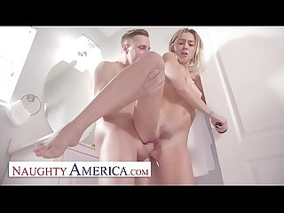 Naughty America - Chloe Temple can't hold her urges any longer and fucks her friend's hot brother