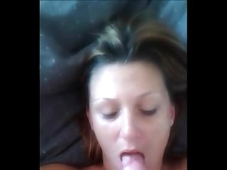 Milf slut gets facial