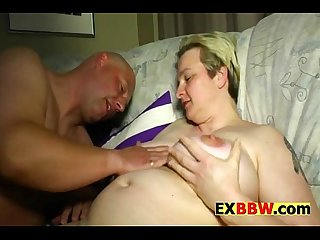 Bbw nasty old bitch with short hair gets fucked