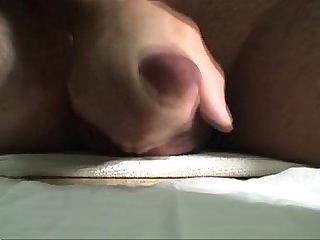 Popote masturbating and cumming