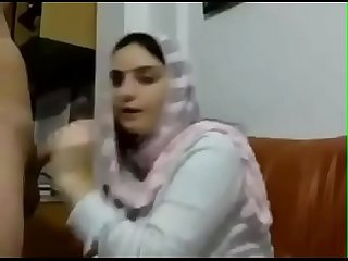 Pakistani hajabi Girl ke sex