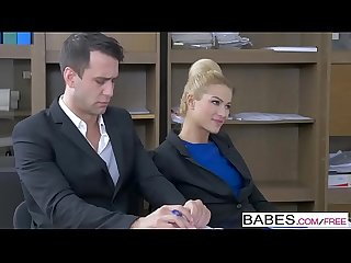 Office Obsession - Handy Presentation starring Kai Taylor and Cherry Kiss clip
