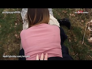 My Dirty Hobby - Amateur teens fuck outdoors