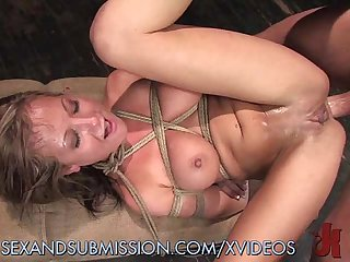 Slave enjoys being used