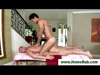 Gay massage for bald straight guy