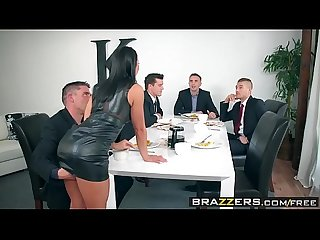 Brazzers real wife stories the dinner party scene starring adriana chechik keiran lee ramon