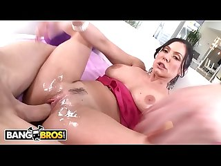 BANGBROS - MILF Kendra Lusts Pumps That Pussy, Takes Some Cock