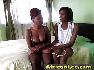 Faiza and sakira are two excited African lesbians eager to try new sex toys