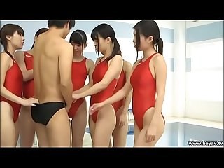 6 girl swimsuit Harem jav mv