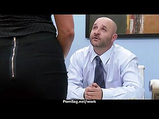 Office slut gets a good fuck to release stress 10