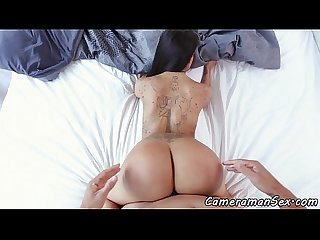 Amateur babe pov banged doggystyle