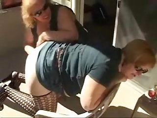 Lesbian grannies having fun amateur older