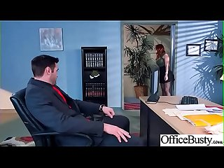 Slut Sexy Girl (Dani Jensen) With Big Round Boobs In Sex Act In Office video-11