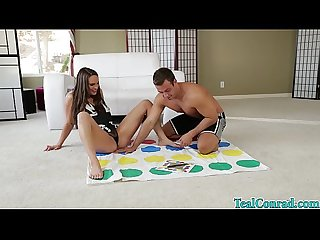Cute teal conrad play dirty twister gets fucked excl