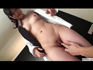 Uncensored JAV freshly shaved amateur fingering and toys