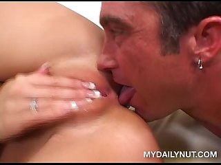 Billy glide makes tiffany rayne squirt