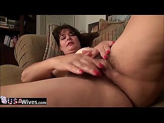USAwives Grandmas loving adult toys compilation