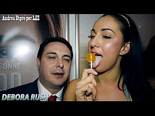 Blowjob lesson of debora rush for Andrea dipr period