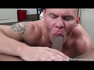 Cracker cums while getting black cocked fyc15049