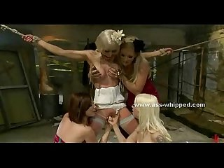 Bride wakes up tied and surrounded