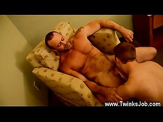 Nude dirty young gay twinks Billy is too youthful to go out drinking,