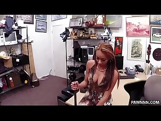 Crazy latina gets fucked in the pawn shop xxx pawn