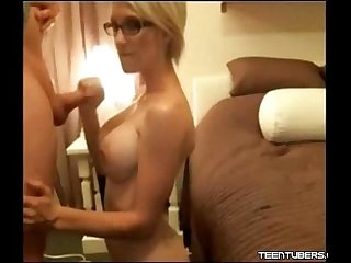 Heather blonde babe homemade Fucking and Cumshot