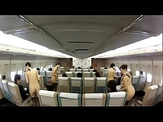 No one knows which japanese airline offers such a full naked sex service - Pt2 On HdMilfCam.com