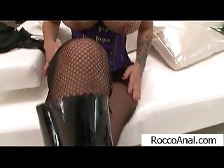 Big tits dominno teasing rocco siffredi with her big ass and tits