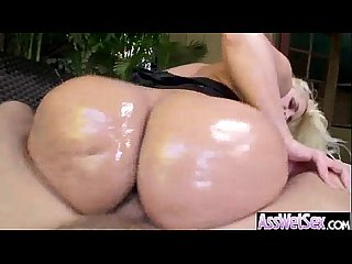 alena croft superb girl with huge oiled butt take it deep in her ass Vid 02