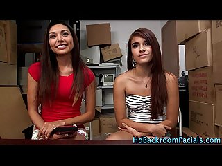 Amateur latinas share rod