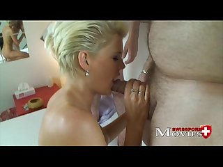 Blonde shoolgirl Scarlet used as a Sex-Slave