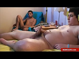Str8 trucker serviced by latin twink