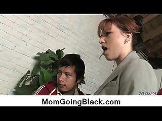 Hot mom going black big cock 18
