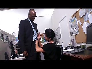 Shay fox gets fucked by black boss