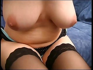 Girl with big natural brest fucked