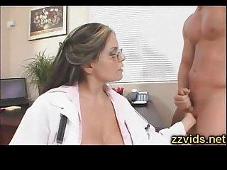 Busty doctor Mikayla Mendez