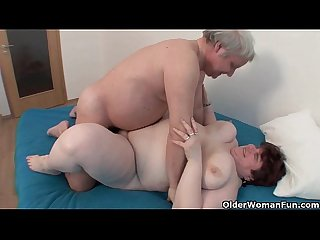Bbw grandma still enjoys grandpa S tiny dick