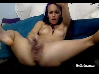 Bitch using dildos and squirting at trymycam com