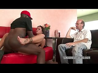 Cheating wife nikita Denise gets nailed with a black cock