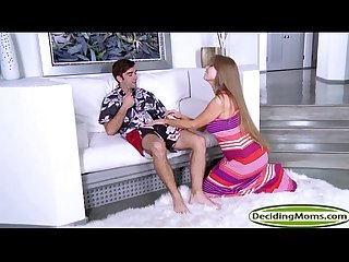 MILF Darla Crane films teen Alice Green in a threesome